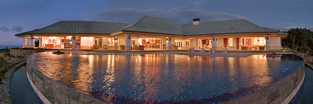 Covered Lanai Tropical Pool Other By Architectural