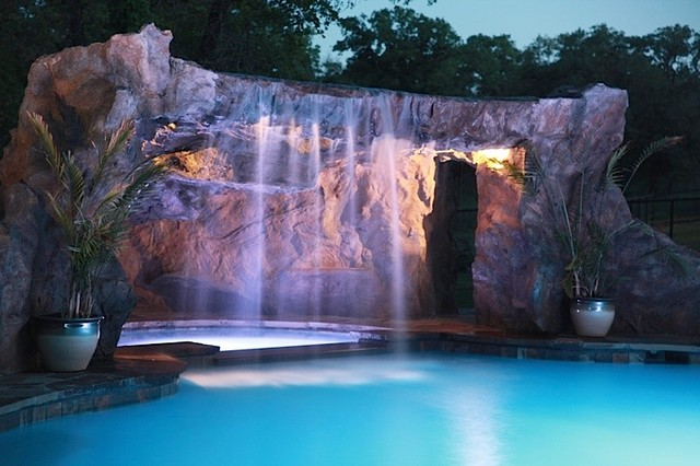 Cox Grotto Traditional by ADC Hardscapes