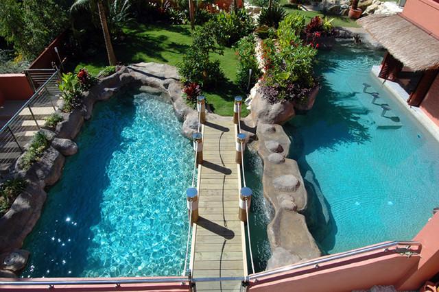Creative Rock eclectic-pool