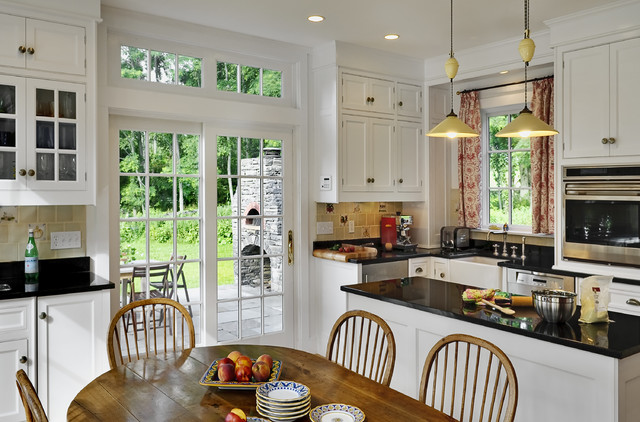 Http Www Houzz Com Photos  Crisp Architects Traditional Kitchen New York