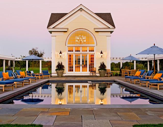 Crisp Architects traditional-pool