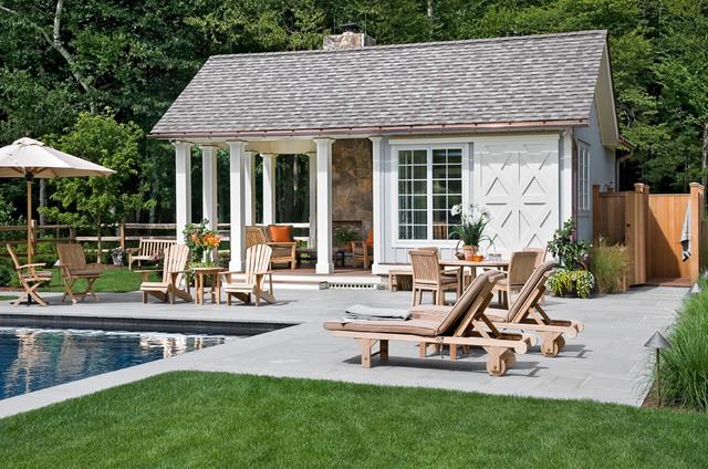 Crisp Architects Farmhouse Pool