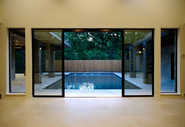 Crooked Creek contemporary-pool