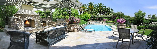 Crystal Cove Estate Pool traditional-pool