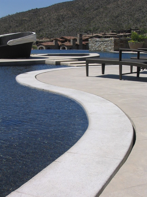 Custom Desert Mountain Pool and Spa contemporary-pool