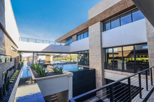Indoor outdoor contemporary las vegas by blue heron Blue heron las vegas