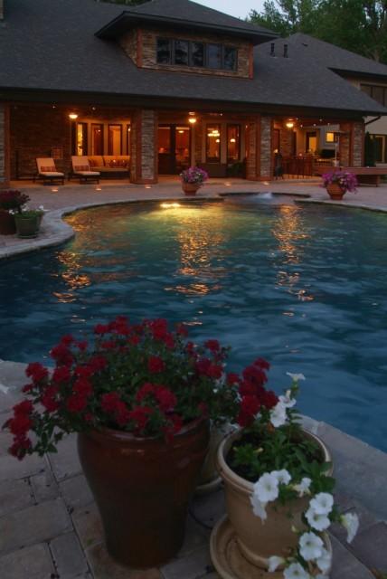 Custom Exteriors contemporary-pool