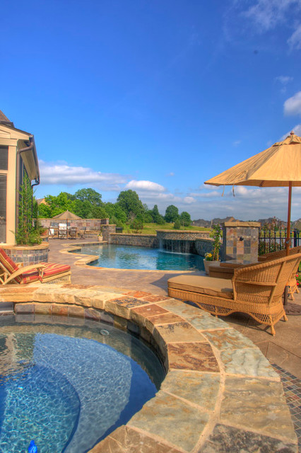 Custom Gunite Swimming Pools In Memphis Tn Surrounding Areas Traditional Pool By