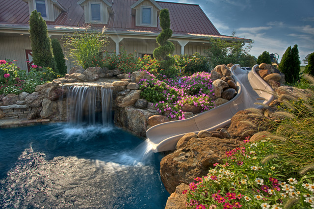 Custom Gunite Swimming Pools Traditional Pool Other By Natures