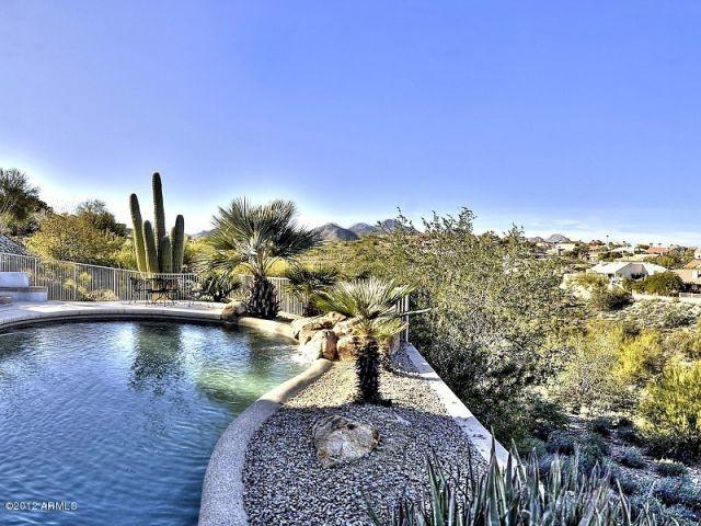 Custom Home, Fountain Hills,AZ mediterranean-pool