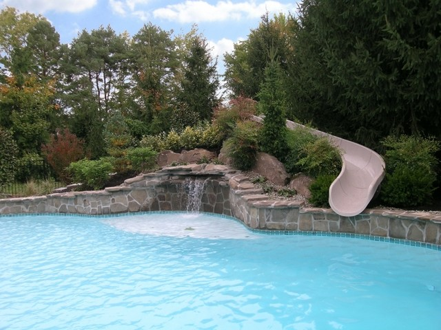 custom natural pool landscaping - Pool Landscaping
