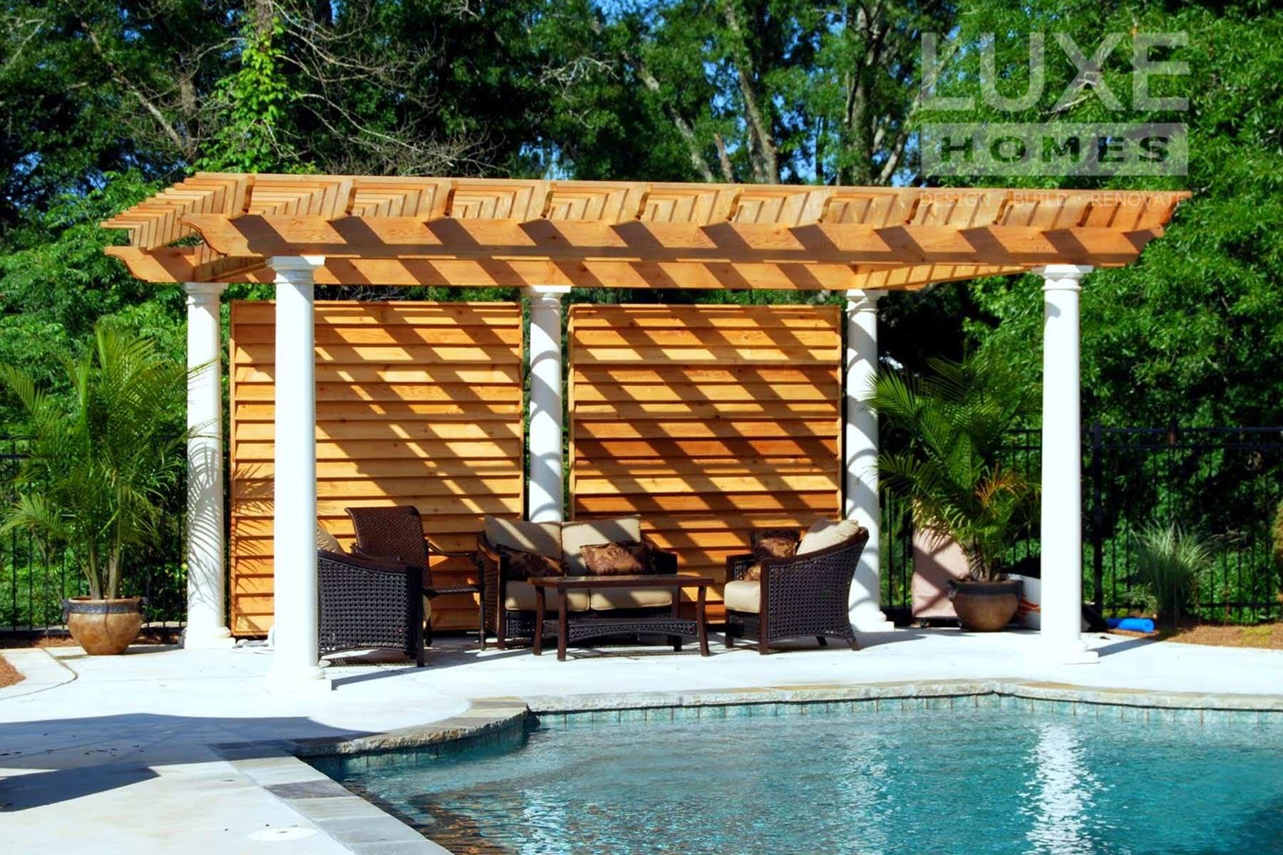 Custom Pool and Cabana