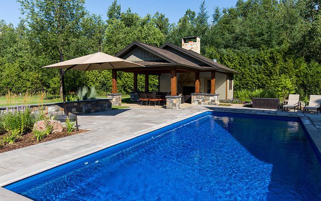 Custom pool cabana for Custom pool cabanas