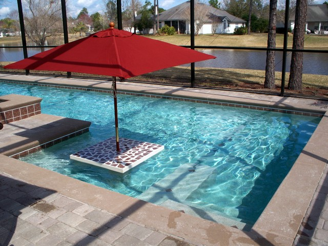 Custom pools contemporary pool jacksonville by for Pool design 101