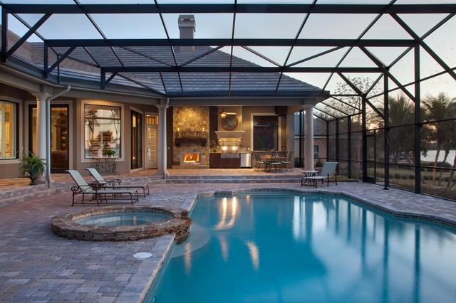 Custom Residence mediterranean-pool