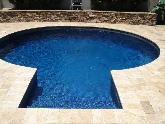 Custom Small Pool contemporary-pool
