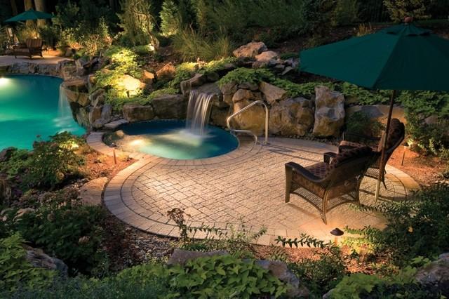Custom Swimming Pool Deck - Tropical - Pool - Philadelphia - by ...