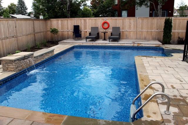 Custom swimming pool ottawa contemporary pool ottawa for Pool design ottawa