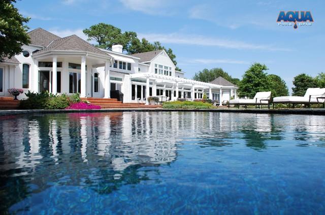 Custom Swimming Pools traditional-pool