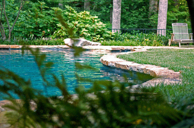 D contemporary-pool