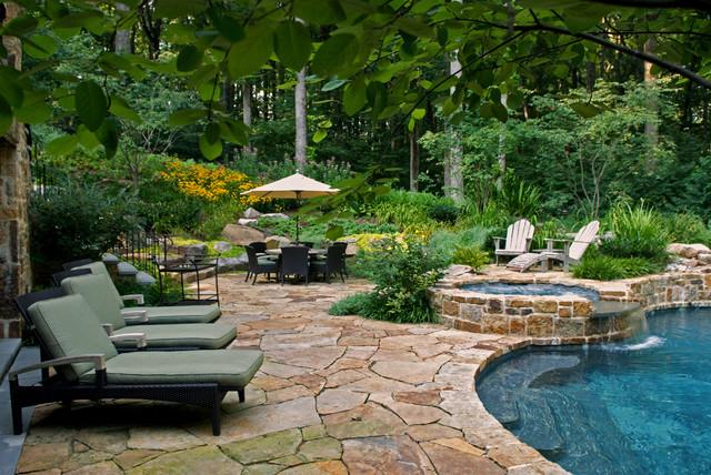 D traditional pool dc metro by plusen landscape for Plusen landscape architects