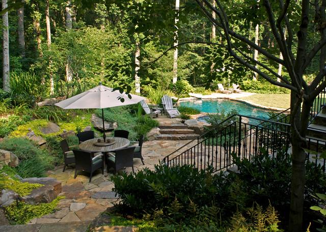 D contemporary pool dc metro av plusen landscape for Plusen landscape architects