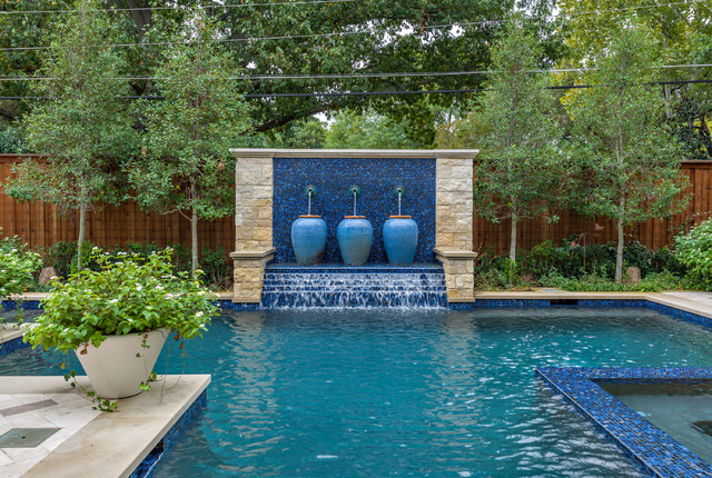 Dallas Backyard Pool Amp Retreat Traditional Pool