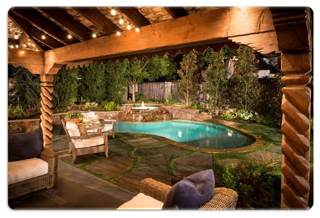 Dallas, Texas – Private Rustic Estate rustic-pool