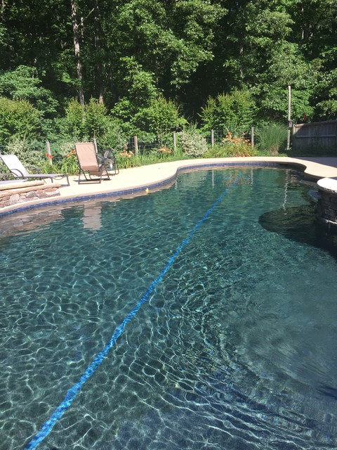 Dark Pool Interior Finish Demystified - Eclectic - Swimming ...
