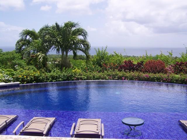 David's Garden tropical-pool