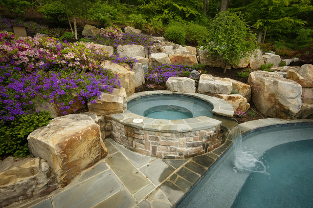 Davidsonville outdoor living traditional-pool