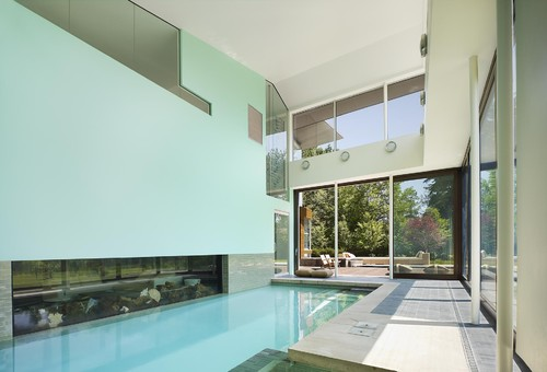 modern pool Fabulous Fish Tanks