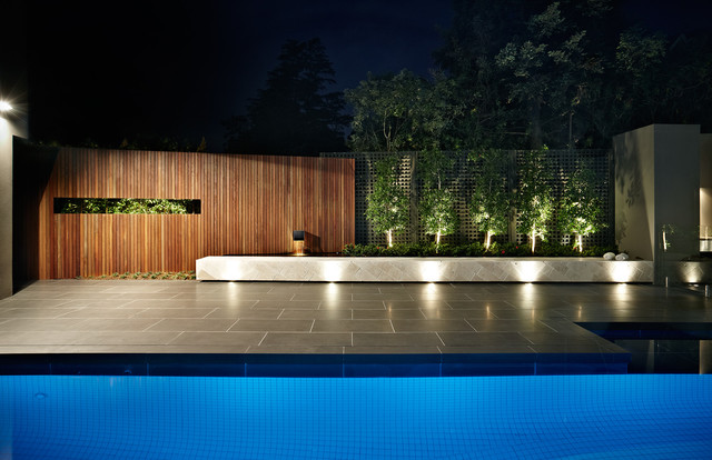 Ddb design exteriors pools contemporary pool for Pool show melbourne