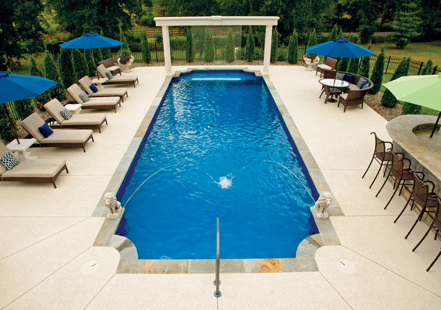 Dealer favorites modern pool other by latham pool for Pool dealers