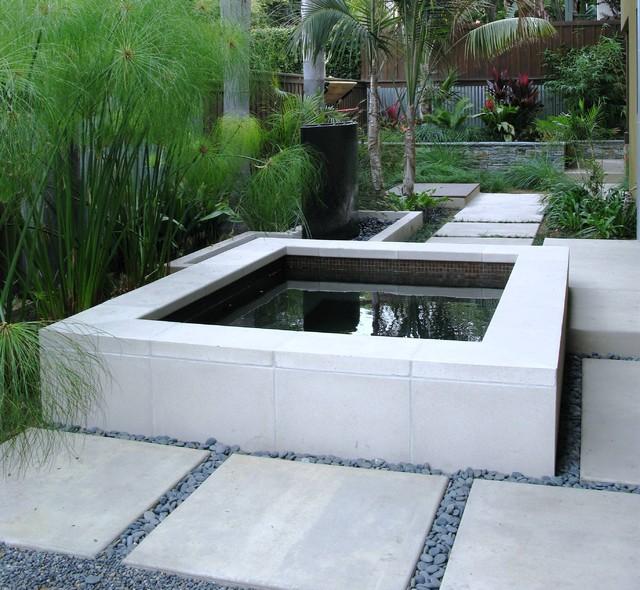 Debora Carl Landscape Design Contemporary Swimming Pool Hot