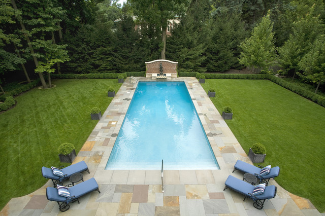 Deck Traditional Pool Chicago By Hirsch