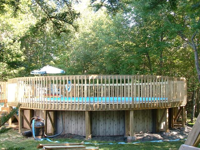 Decks traditional-pool
