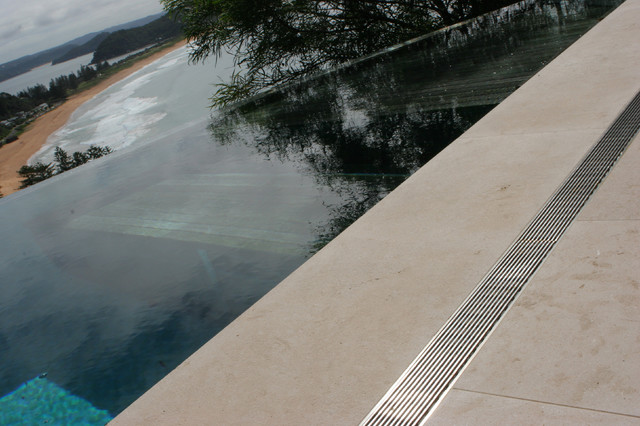 Decks Patios And Balconies Contemporary Pool By