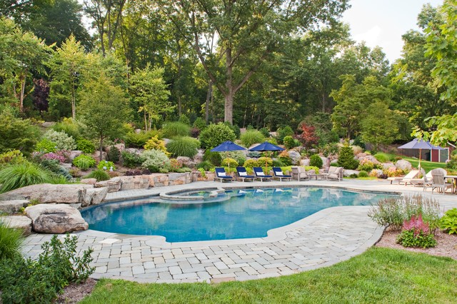 Deer Path Traditional Pool New York By Cording