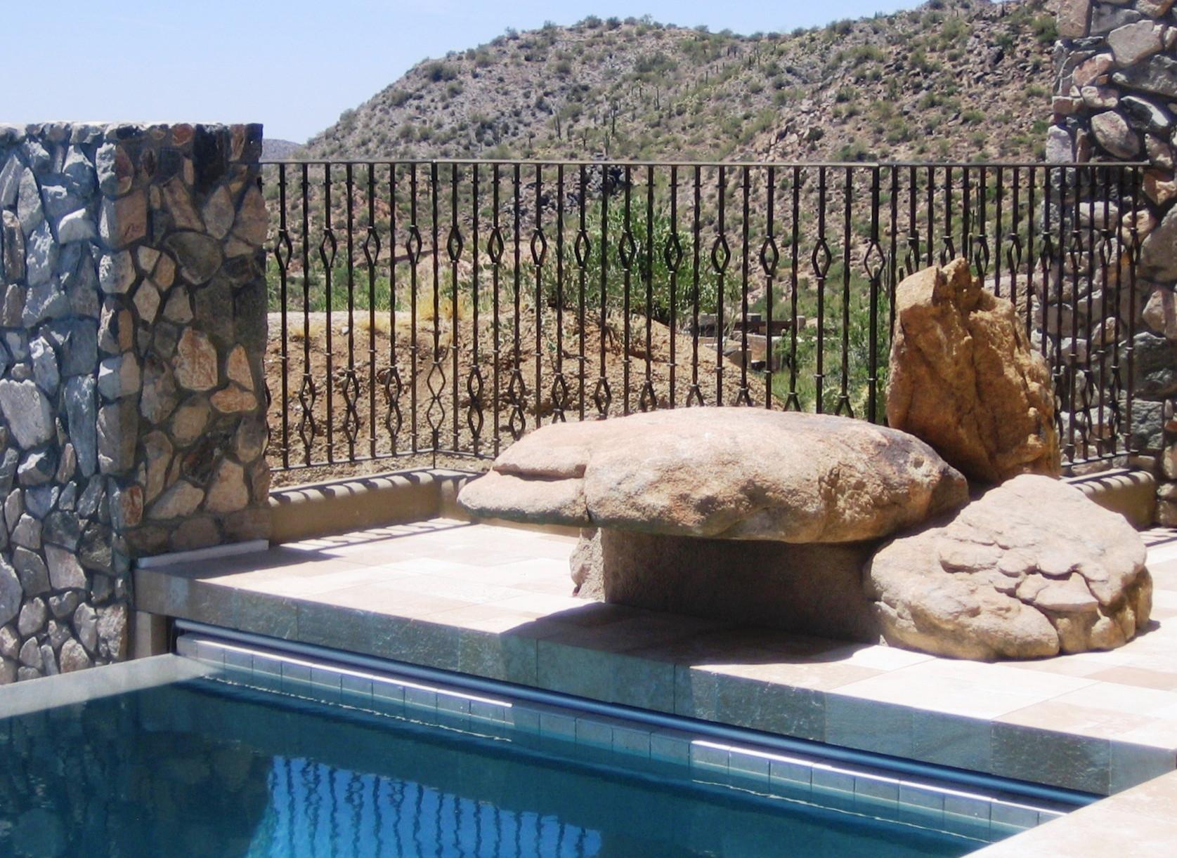 Desert Mountain II--Rock Ledge