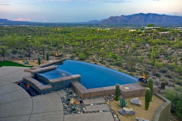 Desert Oasis Southwestern Pool