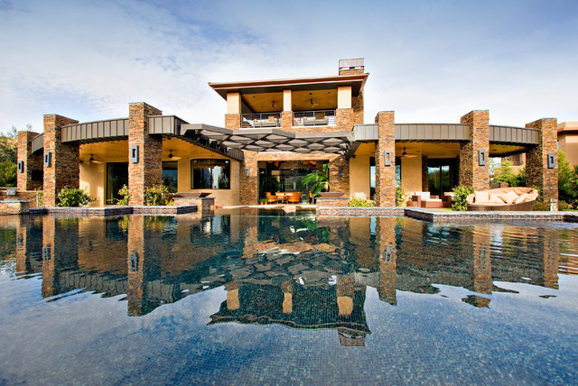 desert sanctuary private residence contemporary pool