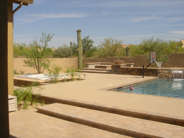 desertdesigner pool scapes traditional-pool