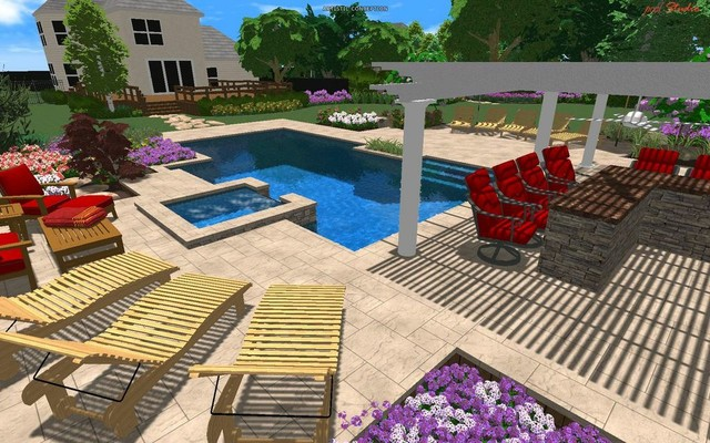 Design/Build 3D Automation contemporary-hot-tub-and-pool-supplies