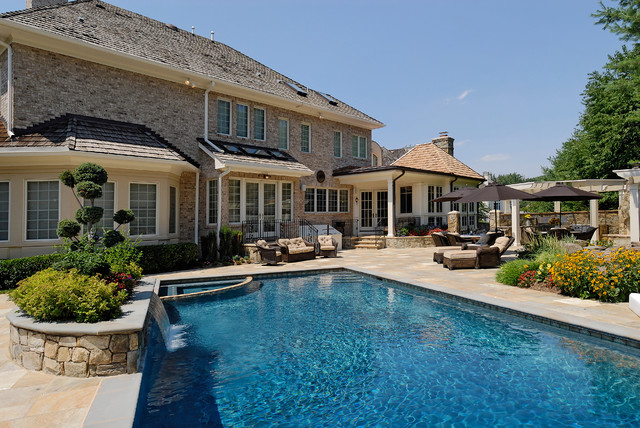Design Build Renovation in Potomac, MD traditional-pool