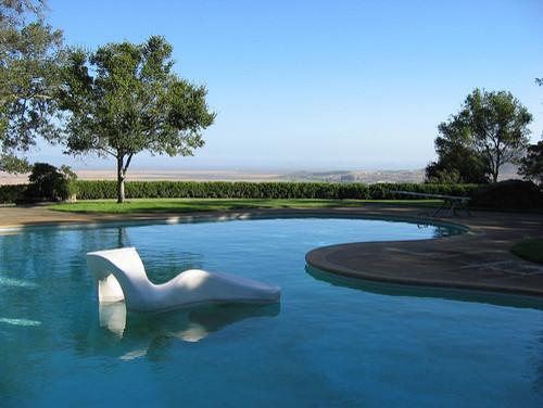 modern pool by The Cultural Landscape Foundation