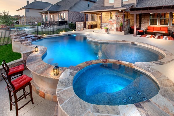 Designer Pools and Outdoor Living on Outdoor Living Pool And Spa id=51467