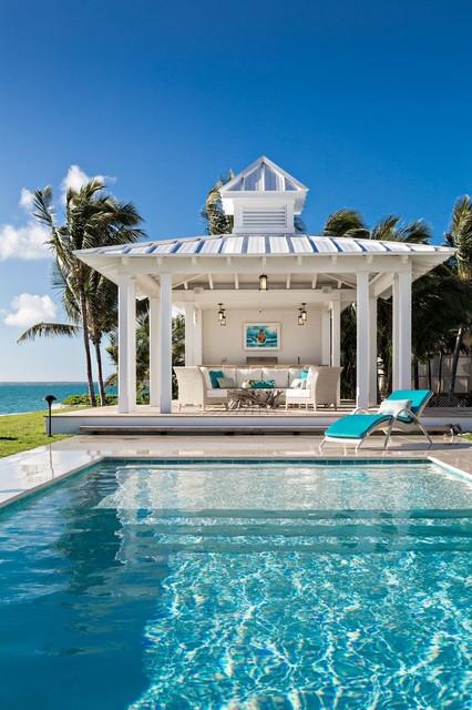 Designs By Mkc Designs Jupiter Fl Beach Style Pool