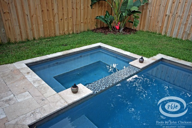Designs for Small Spaces Traditional Pool
