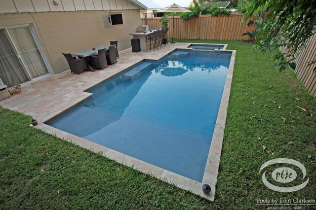 Designs for small spaces traditional pool jacksonville by pools by john clarkson - Pool designs for small spaces ...